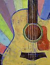 Sunrise Guitar by Michael Creese