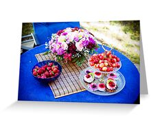 Summertime... And the Weather is Nice. Greeting Card