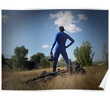 Blue Solitary Set II Pic 08 Poster