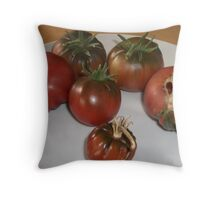 The other side of Ugly Throw Pillow