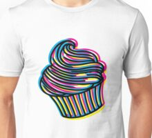 CMYK Cupcake Unisex T-Shirt