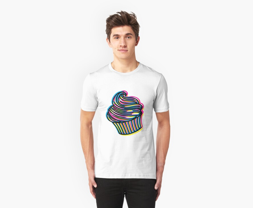 CMYK Cupcake by jadeboylan