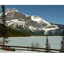 Peyto Lake Nr Banff Photographic Print