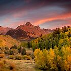Sneffels Sunset by Ken Fleming