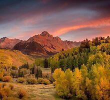 Sneffels Sunset by Ken Fleming