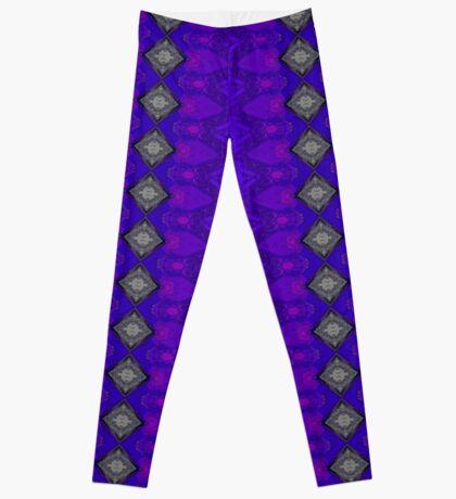 Purple Patterns Please People Leggings