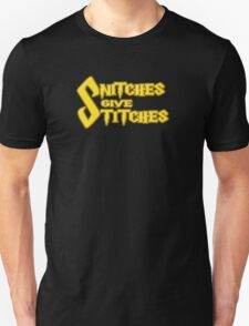Snitches Give Stitches T-Shirt