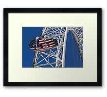 The London Eye Rugby World Cup 2015 Framed Print