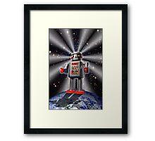 Earth Robot Framed Print