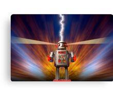Angry Robot Canvas Print
