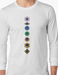 7 Chakras Long Sleeve T-Shirt