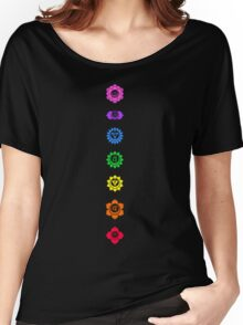 Neon Chakras Women's Relaxed Fit T-Shirt