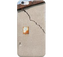 Architecture detail of damaged house iPhone Case/Skin