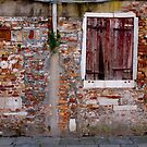 The Wall That Has Seen a Lot by Rae Tucker