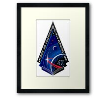 Expedition 45 Mission Patch Framed Print