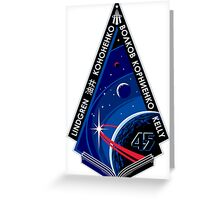 Expedition 45 Mission Patch Greeting Card