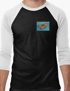 Monarch Butterfly Men's Baseball ¾ T-Shirt