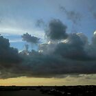 Hamilton Sunset Cloudscape  by John Gaffen