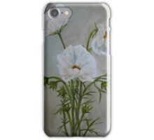 Wit kosmosse iPhone Case/Skin