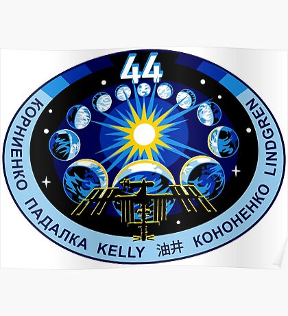 Expedtion 44 Mission Patch Poster
