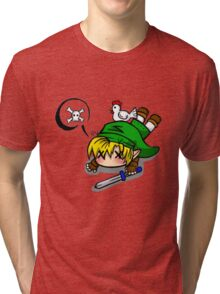 Dead Link (big version) Tri-blend T-Shirt