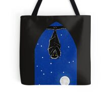 Bat in the Window Tote Bag