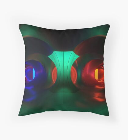 Multicoloured passages - Levity III  Throw Pillow
