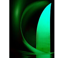Inside Levity III - shapes and colours Photographic Print