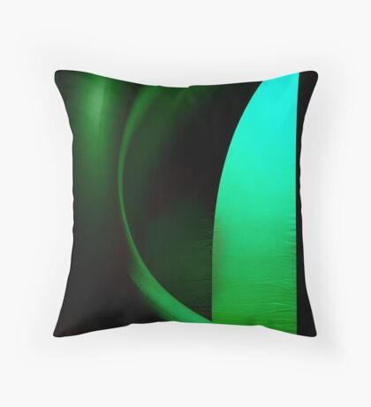 Inside Levity III - shapes and colours Throw Pillow