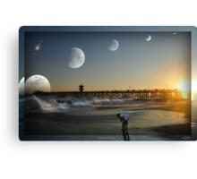 """ Lunar Tides "" Canvas Print"