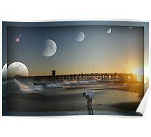 """"""" Lunar Tides """" Poster"""