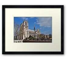 Notre Dame cathedral, Paris Framed Print
