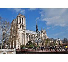 Notre Dame cathedral, Paris Photographic Print