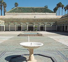 Beautiful Palace In Marrakech, Moroccco by Sarah Louise English