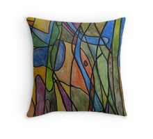 Revelation in the Jungle Throw Pillow