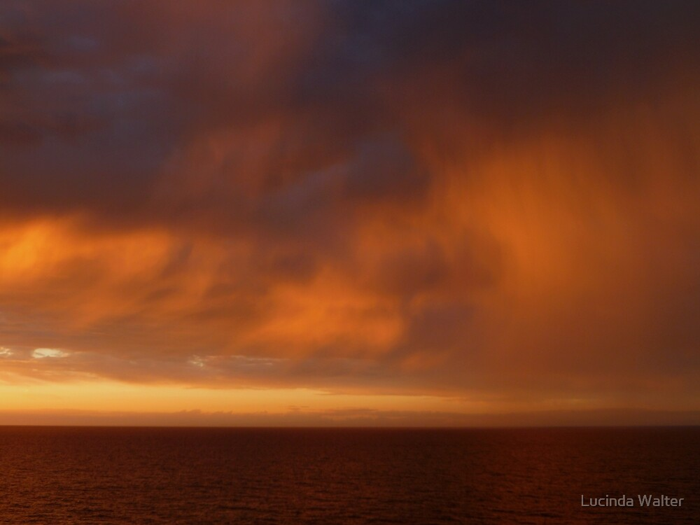 Sunset Rain by Lucinda Walter