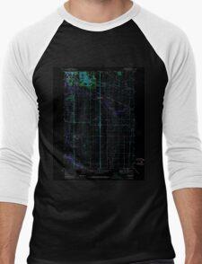 USGS Topo Map Oregon Tangent 281754 1969 24000 Inverted Men's Baseball ¾ T-Shirt