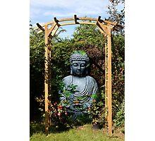 Garden Buddha - Belgium Photographic Print