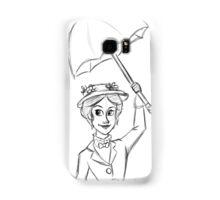 Mary Poppins Sketch Samsung Galaxy Case/Skin