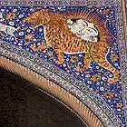 The Sher-Dor (Having Tigers) Madrasah designed by architect Abdujabor, Samarkand, Uzbekistan, Central Asia. by Thibaut PETIT-BARA
