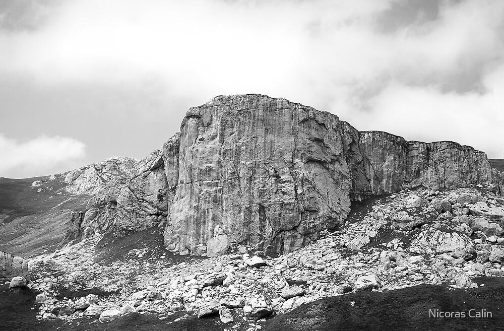 Peisaj din Bucegi  by Nicoras Calin