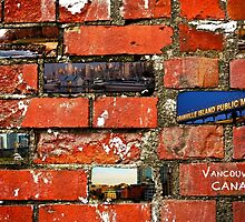 Vancouver Brick Work by Rae Tucker
