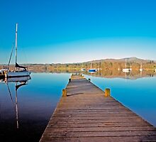 Jetty - Lake Windermere  by John Hare