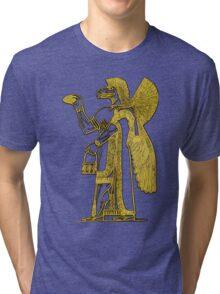 Anunnaki in Bronze Tri-blend T-Shirt