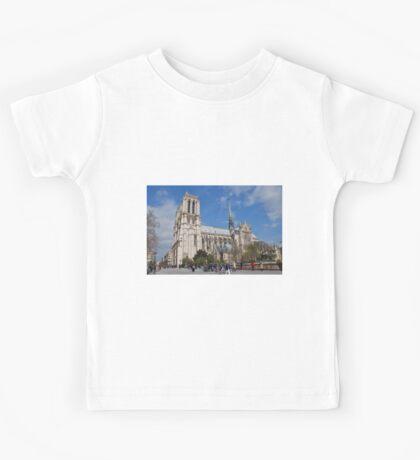 Notre Dame, Paris Kids Tee
