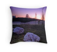 Chateau Sunrise Throw Pillow