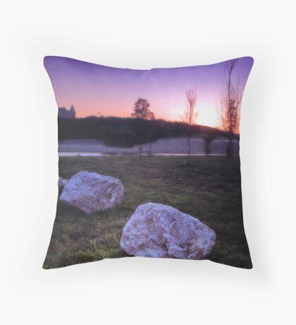 Chateau Sunrise Throw Pillow