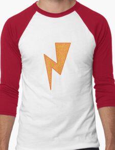 Lightning Bolt - Potter Style Men's Baseball ¾ T-Shirt