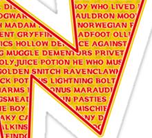 Lightning Bolt - Potter Style Sticker