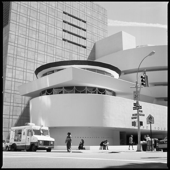 Medium Format Photography: Solomon R. Guggenheim Museum by Randy Le'Moine
